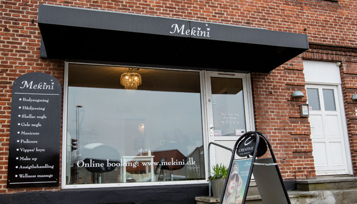 Mekini klinikken på Kornblomstvej